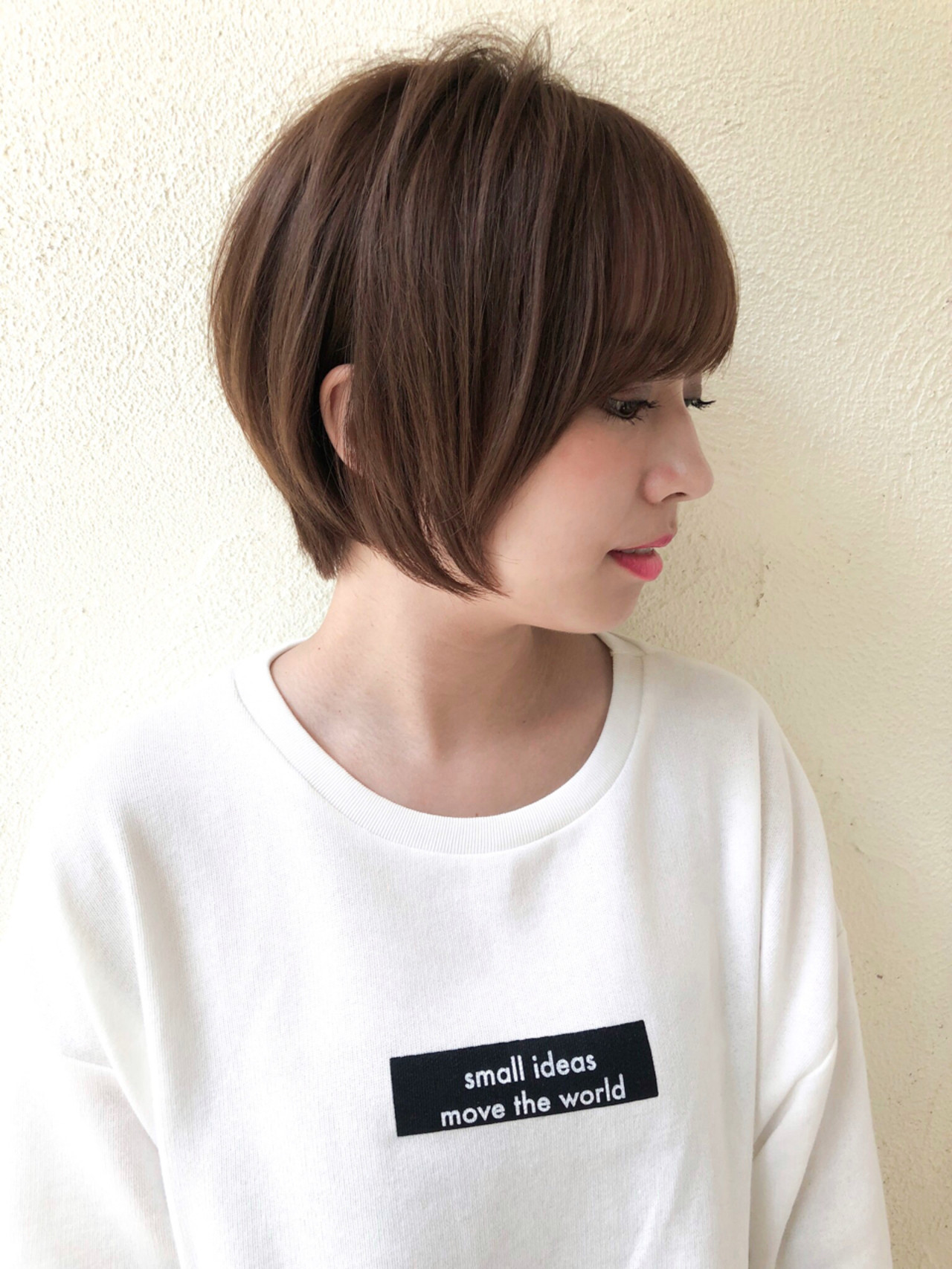 ヘアアレンジ 似合わせ 女子力 ショートヘアスタイルや髪型の写真・画像
