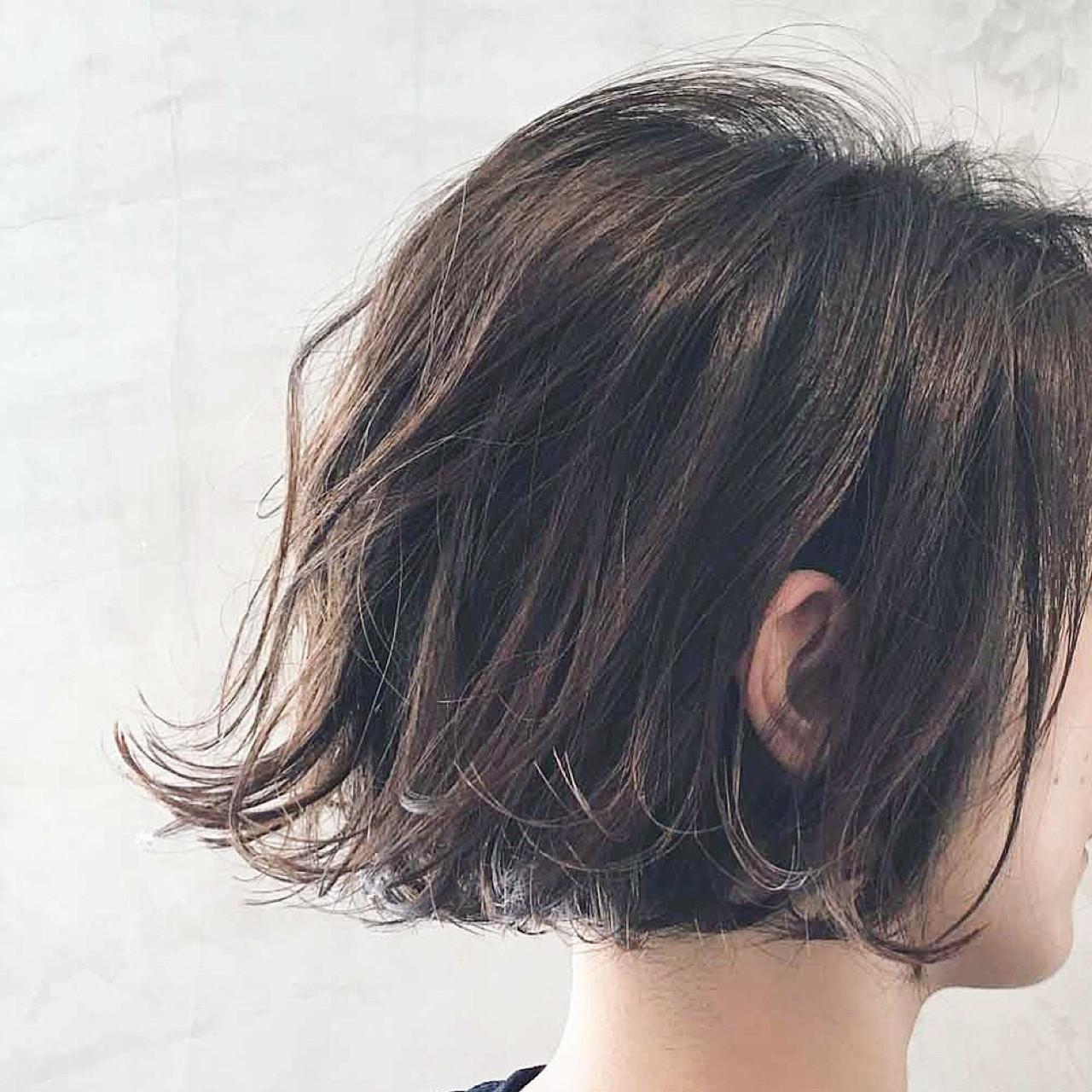 【ショートヘア向け】短くてもピッタリはまる!デジタルパーマスタイル 篠崎 佑介