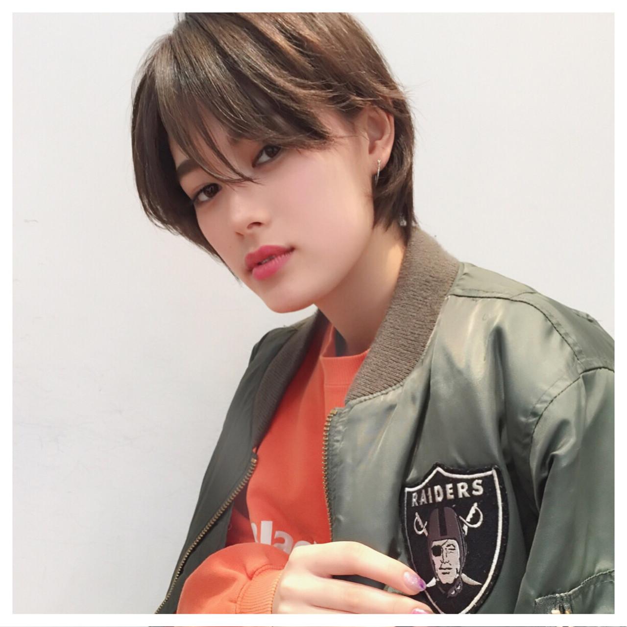 ストリート ヘアワックス ショート かっこいい ヘアスタイルや髪型の写真・画像   成田沙也加 / tricca