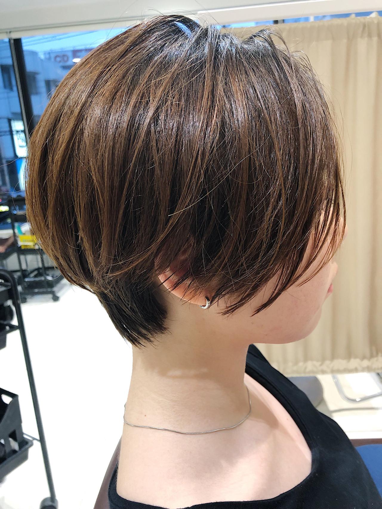 スポーツ ハンサムショート ショート ナチュラル ヘアスタイルや髪型の写真・画像 | 木村 直継 / Ash 東戸塚