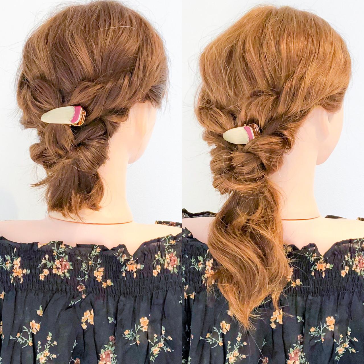 ヘアアレンジ エレガント アウトドア ロング ヘアスタイルや髪型の写真・画像   美容師HIRO/Amoute代表 / Amoute/アムティ
