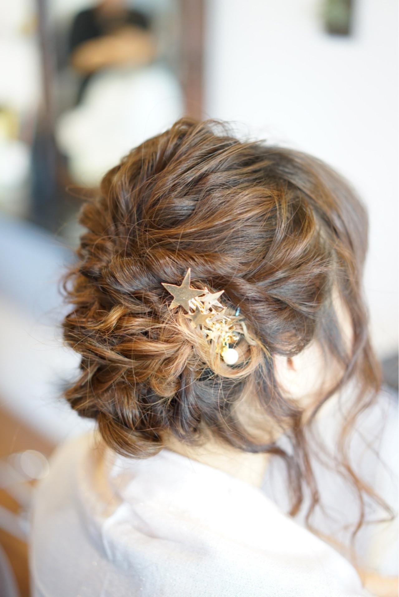 簡単ヘアアレンジ ねじり 編み込み ヘアアレンジ ヘアスタイルや髪型の写真・画像 | 渡辺拓吏【NUM】 / hair salon NUM