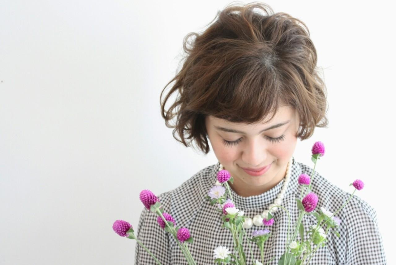 パーマ 外国人風 ゆるふわ 大人かわいい ヘアスタイルや髪型の写真・画像   平林 美絵 atelier SUNNY DAY / atelier SUNNY DAY