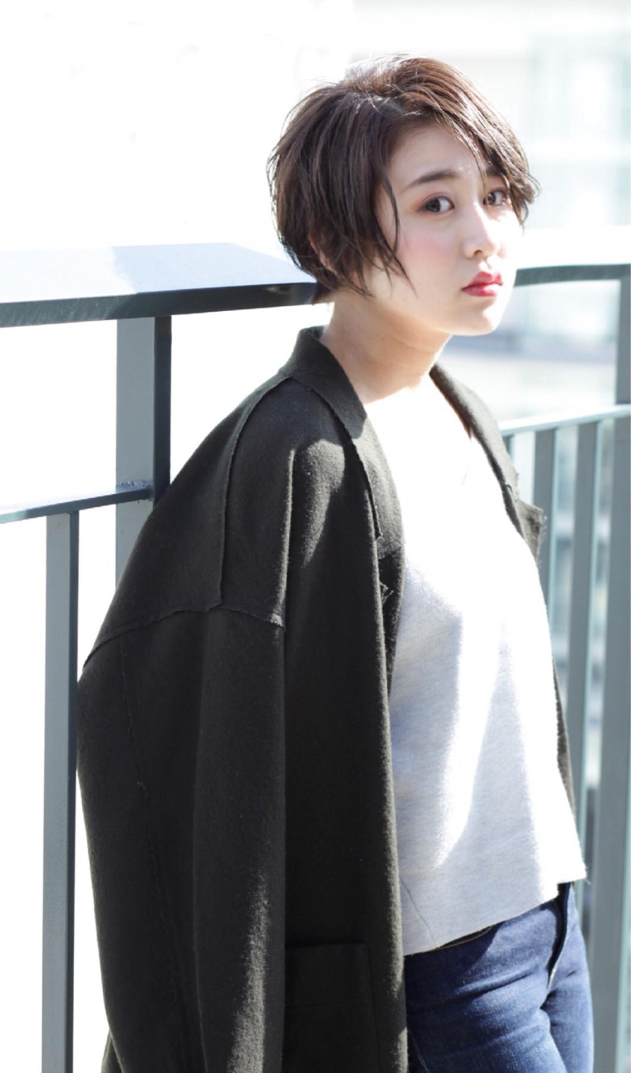 ボブ 秋 ショートボブ 色気 ヘアスタイルや髪型の写真・画像 | 掛橋 翔 / air-FUKUOKA