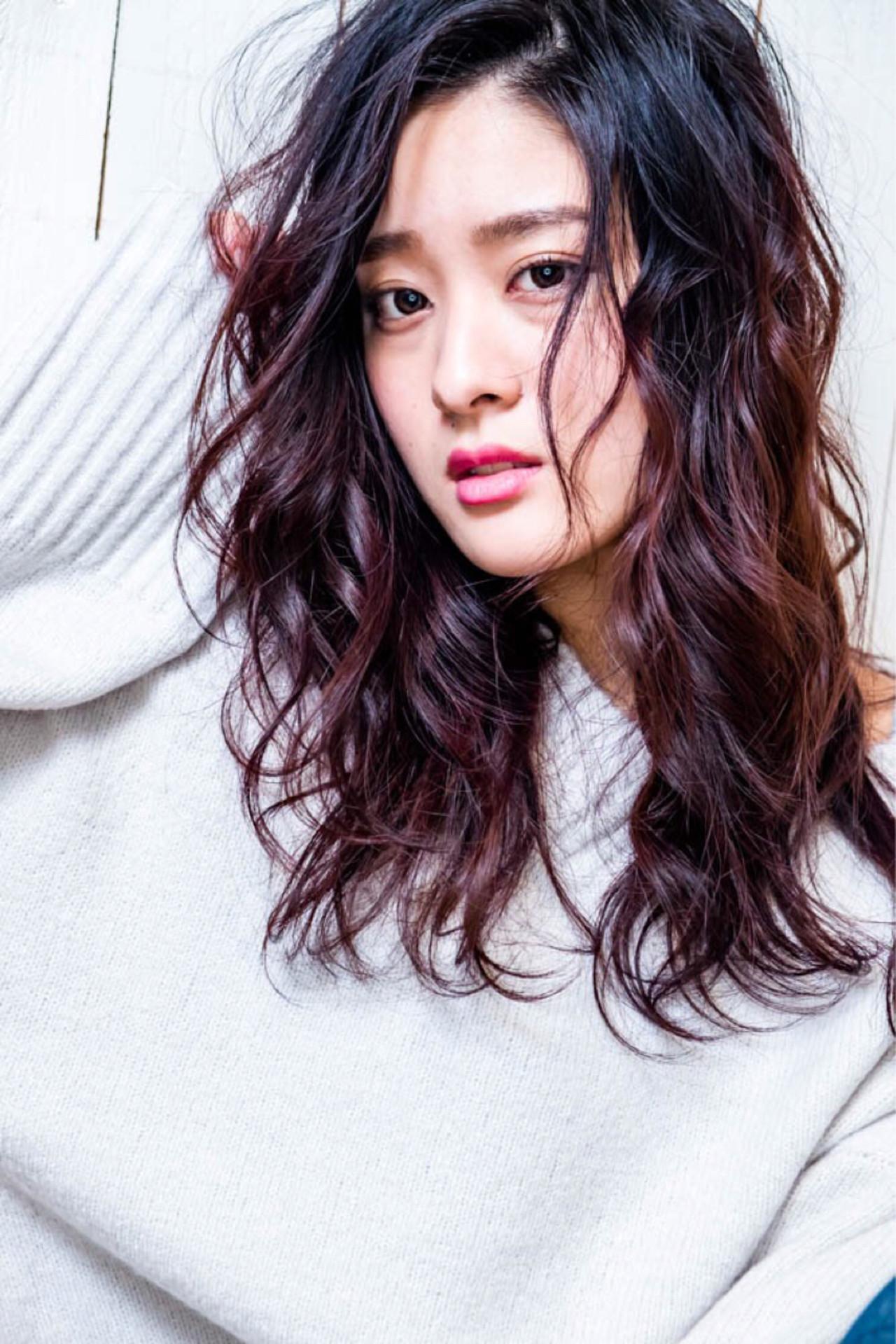 パーマ ナチュラル ニュアンス こなれ感 ヘアスタイルや髪型の写真・画像   HIRO / DOLCE hair横堤
