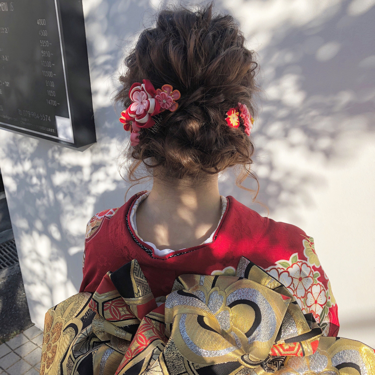 簡単ヘアアレンジ ガーリー ロング 結婚式 ヘアスタイルや髪型の写真・画像   國方 大靖 / JILL franc(ジル フラン)