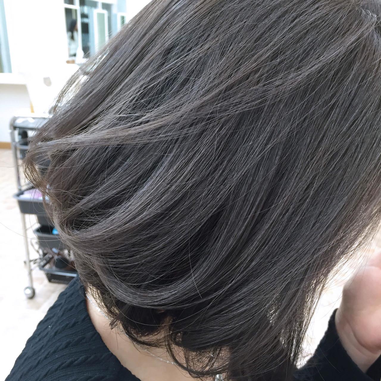 暗髪 ストリート ハイライト グラデーションカラー ヘアスタイルや髪型の写真・画像 | YSO / 電髪倶楽部street