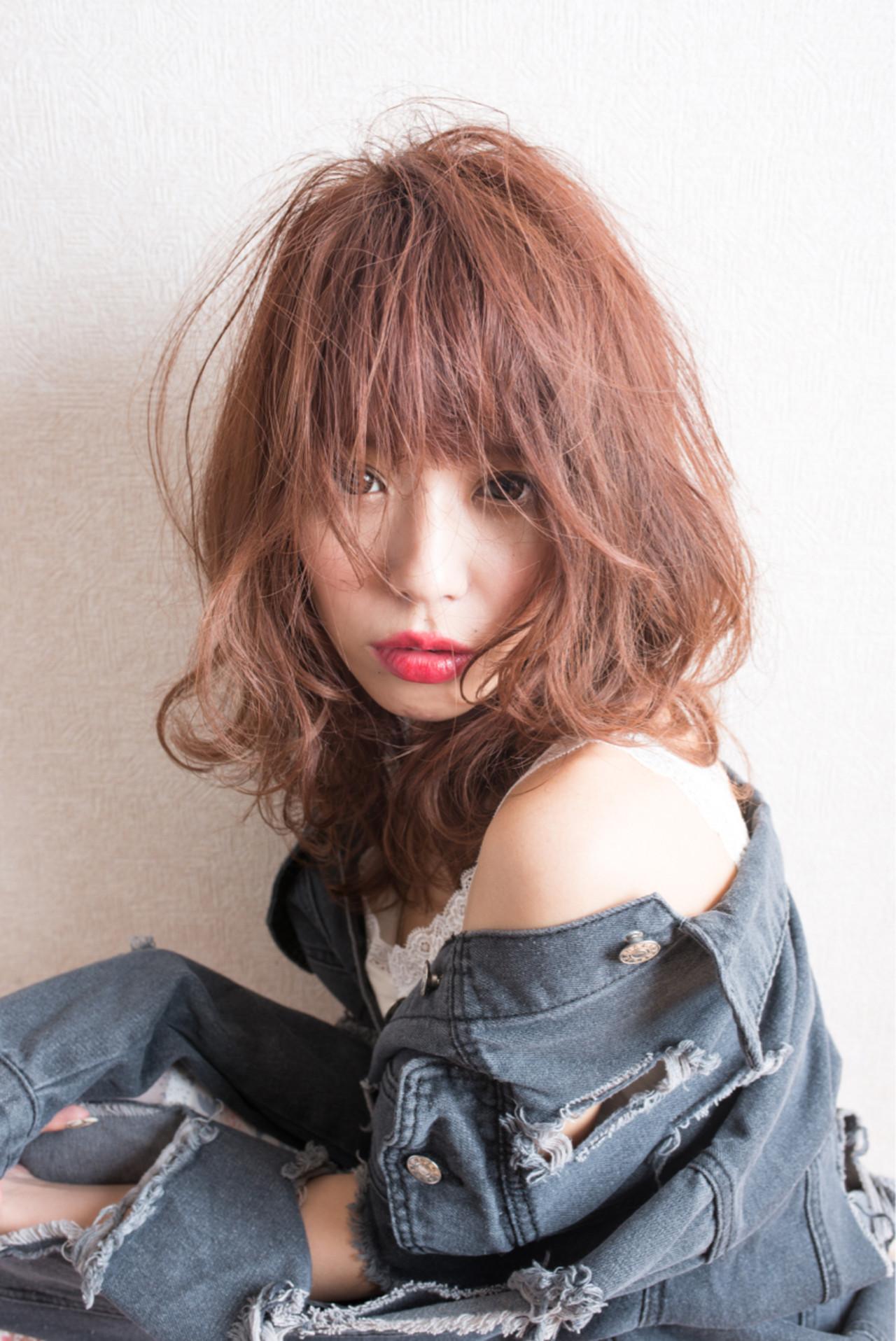ヘアアレンジ ミルクティー ロング ゆるふわヘアスタイルや髪型の写真・画像
