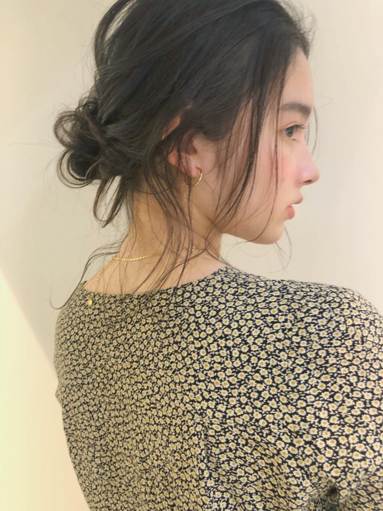 ガーリー ミディアム 結婚式 ヘアアレンジ ヘアスタイルや髪型の写真・画像 | 中島 潮里 / whyte / whyte