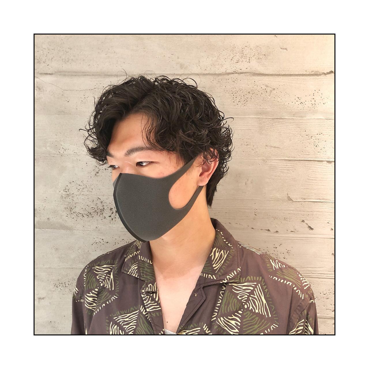 メンズパーマ メンズカット メンズヘア メンズ ヘアスタイルや髪型の写真・画像 | 男性専門美容師 菊地陸 / MEN'S GROOMING SALON SHINJUKU