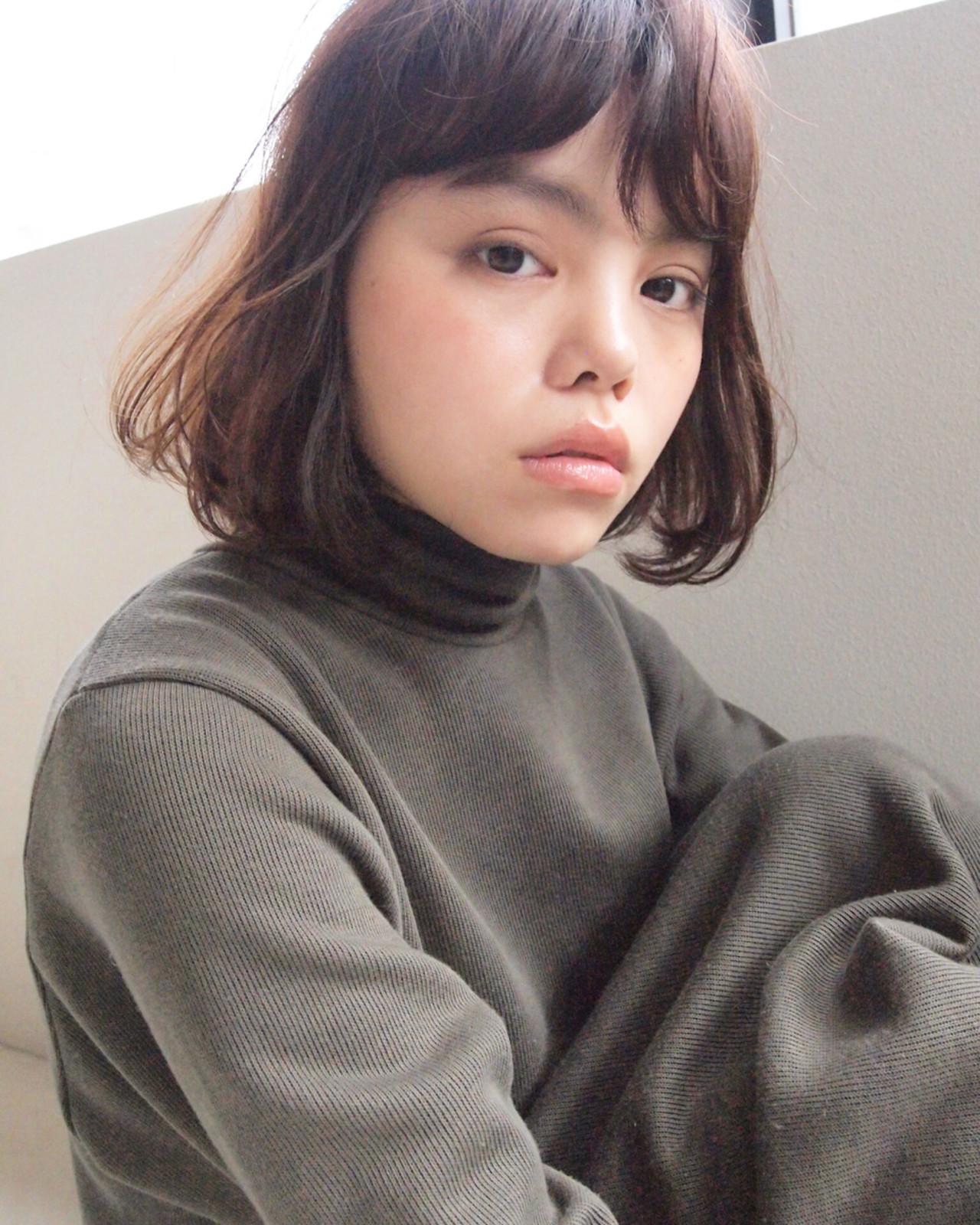 透け髪にキュンッ♡前髪だけじゃない、シースルーボブが今キテル理由。 UEKI / nanuk