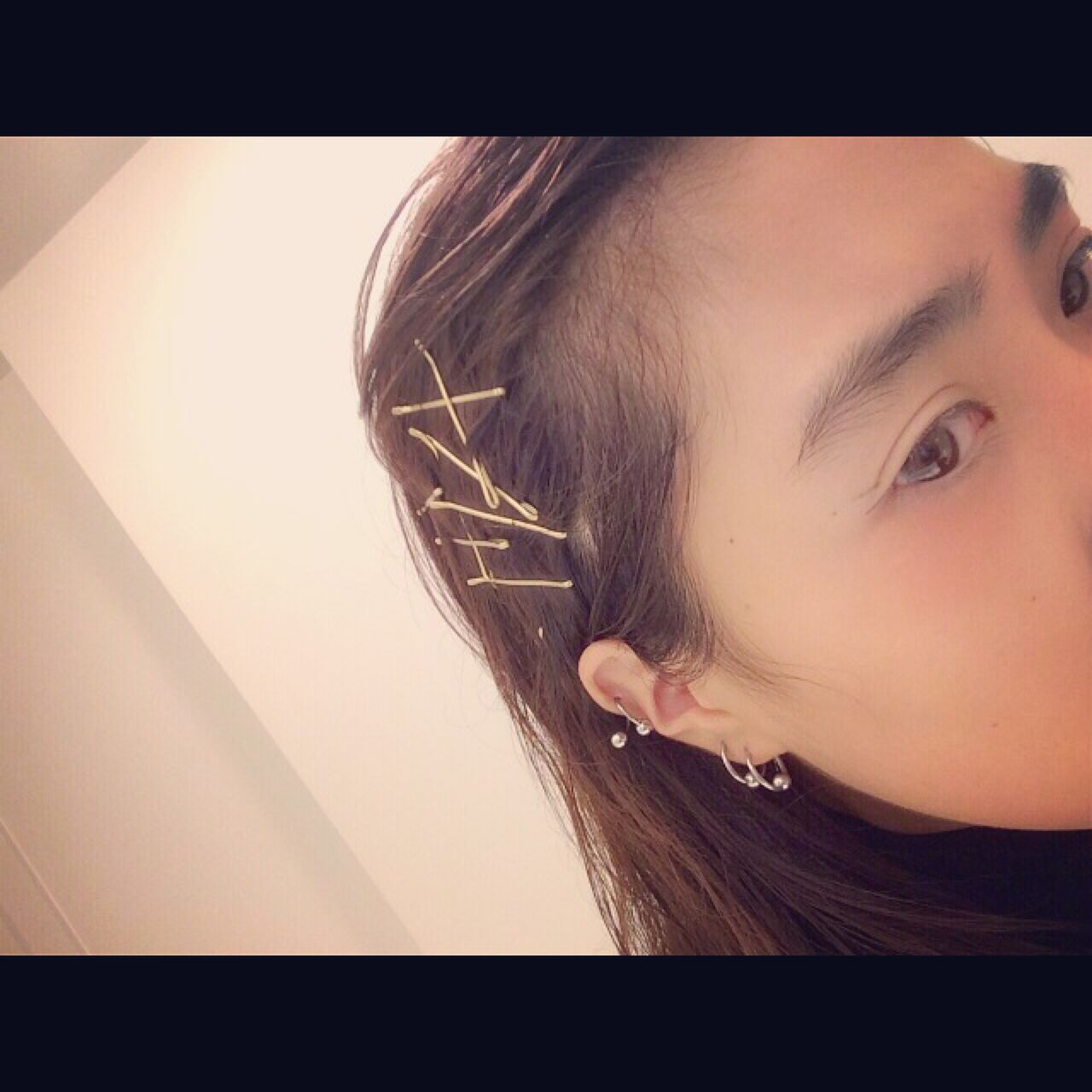誰でもできる簡単アレンジ・ザクザクピンがかわいすぎ♡ asako / nanuk shibuya