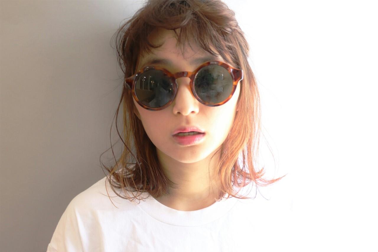 ショート ミディアム 外国人風 簡単ヘアアレンジ ヘアスタイルや髪型の写真・画像 | Kenji Watanabe / BNRNEYFIELDS