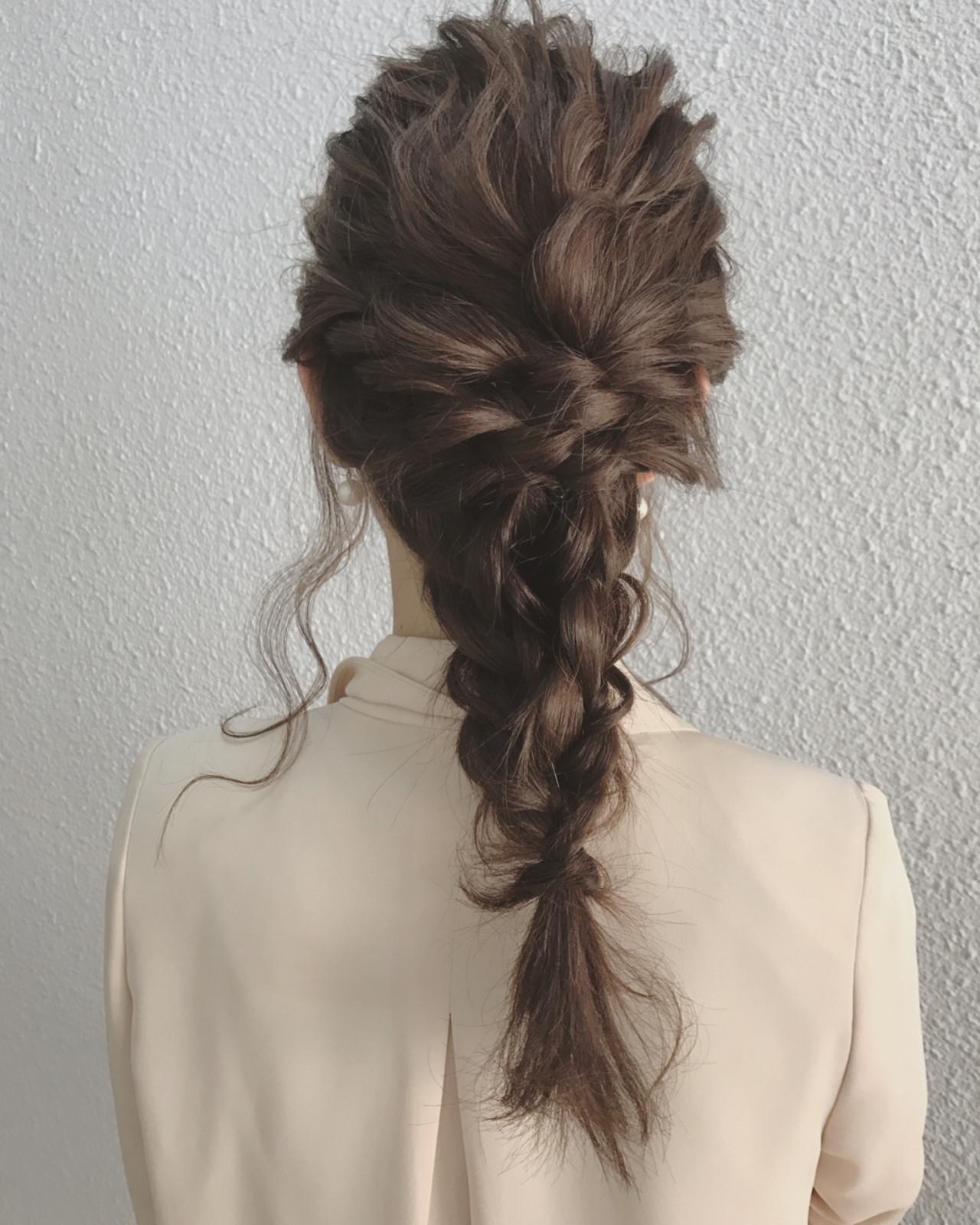 エレガント 秋 結婚式 透明感ヘアスタイルや髪型の写真・画像