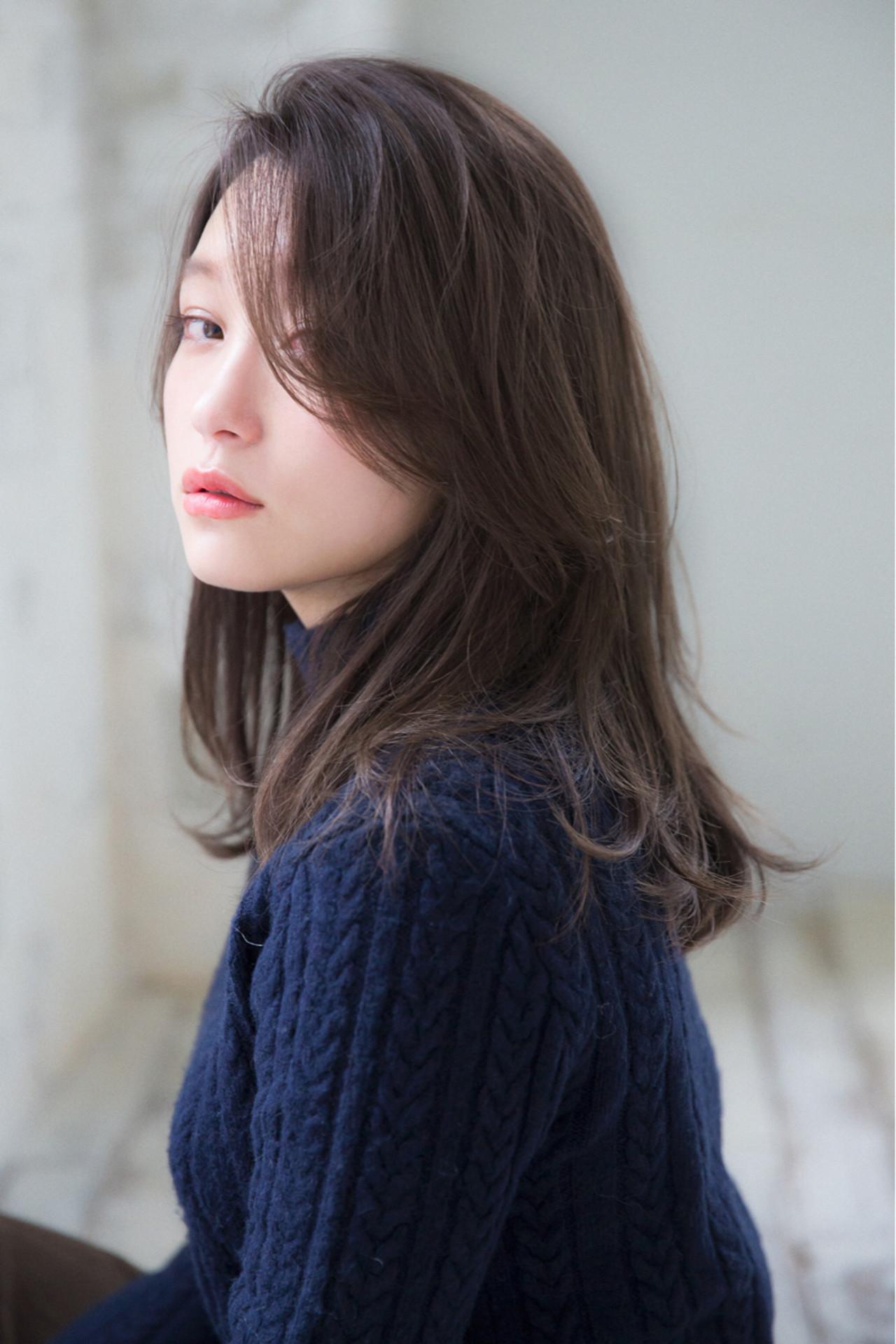 大人女子 ナチュラル こなれ感 ミディアム ヘアスタイルや髪型の写真・画像 | joemi by unami 森千里 / joemi by unami 新宿
