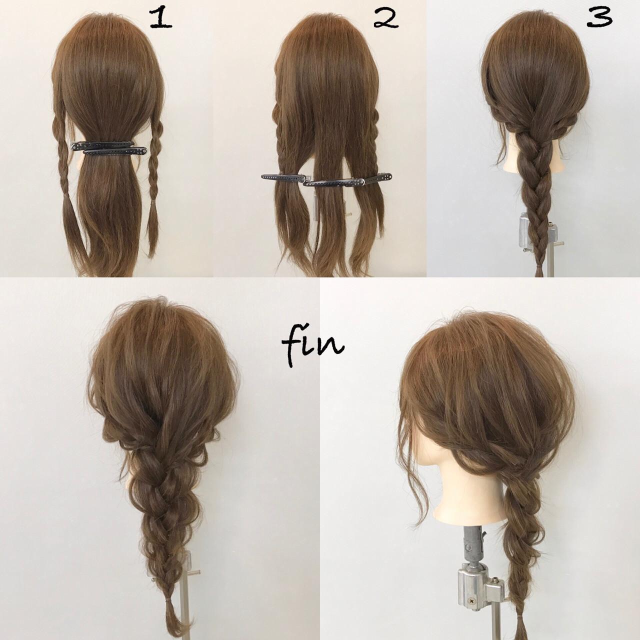 ゆるふわ ヘアアレンジ デート 結婚式 ヘアスタイルや髪型の写真・画像   新谷 朋宏 / Free hairstylist shinya