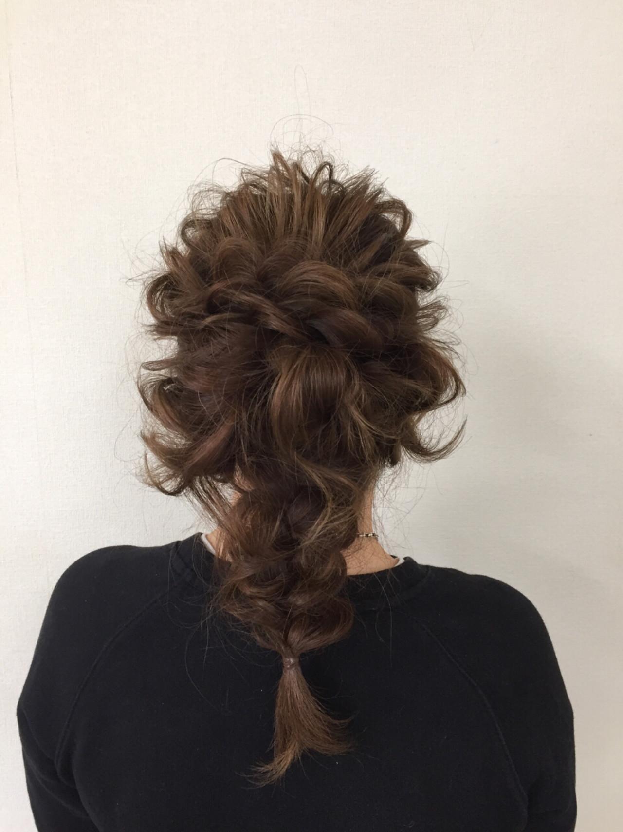 かわいい 上品 エレガント 結婚式ヘアスタイルや髪型の写真・画像