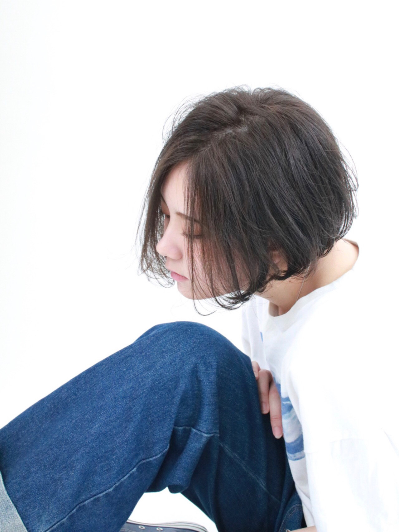 アッシュ ゆるふわ 似合わせ 小顔 ヘアスタイルや髪型の写真・画像 | 中山栄一 / hair&make flor