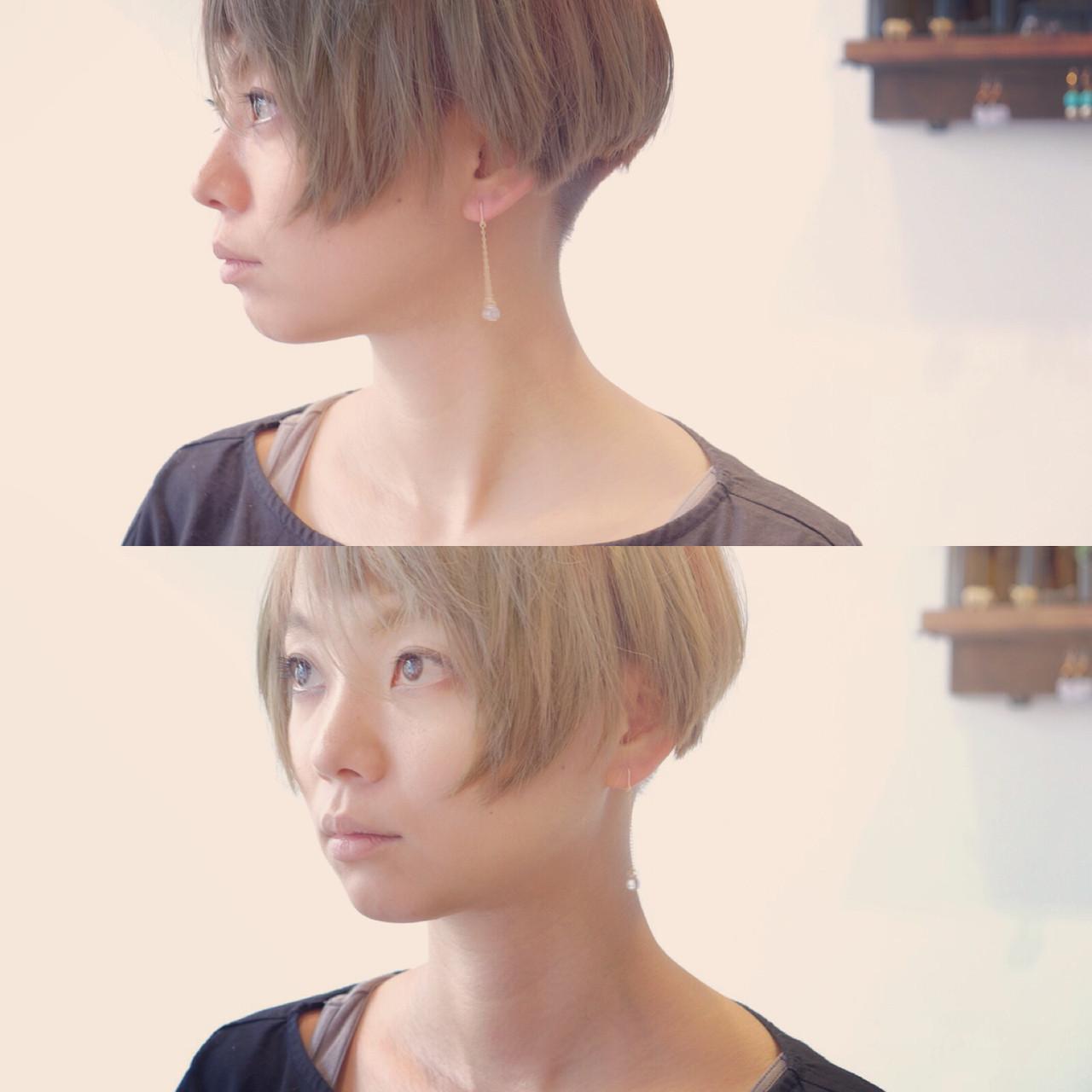 ショート 大人かわいい モード 大人女子ヘアスタイルや髪型の写真・画像