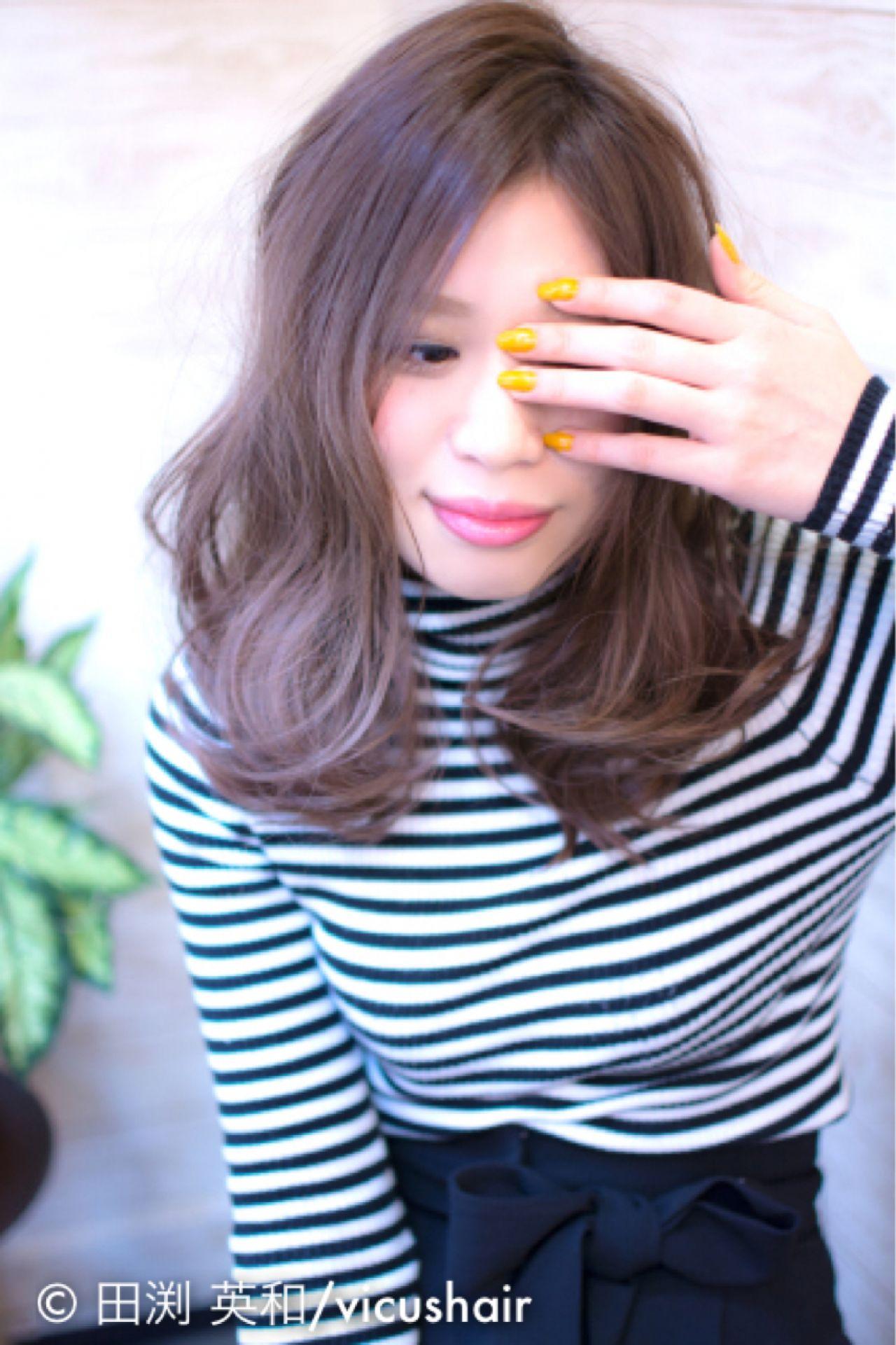 2015年春夏の絶対色!ラベンダーアッシュで決めちゃおう♪ 田渕 英和 / vicushair