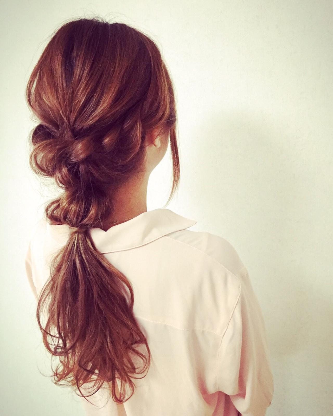 外国人風 大人女子 ゆるふわ 小顔 ヘアスタイルや髪型の写真・画像 | Moriyama Mami / 福岡天神ヘアセット・着付け専門店【Three-keys】