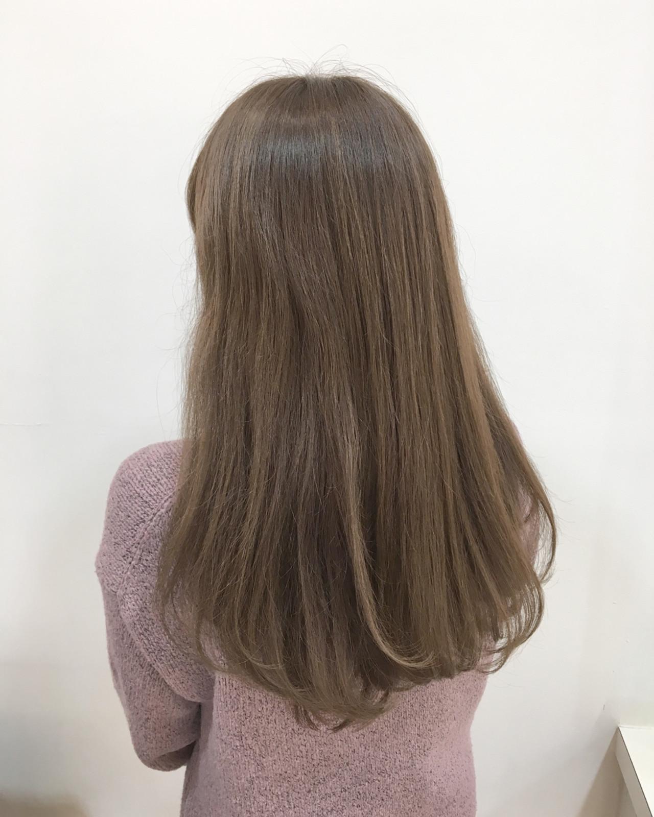 ピンク おフェロ ロング 大人女子 ヘアスタイルや髪型の写真・画像 | 海崎 剛史 / justbeauty Really