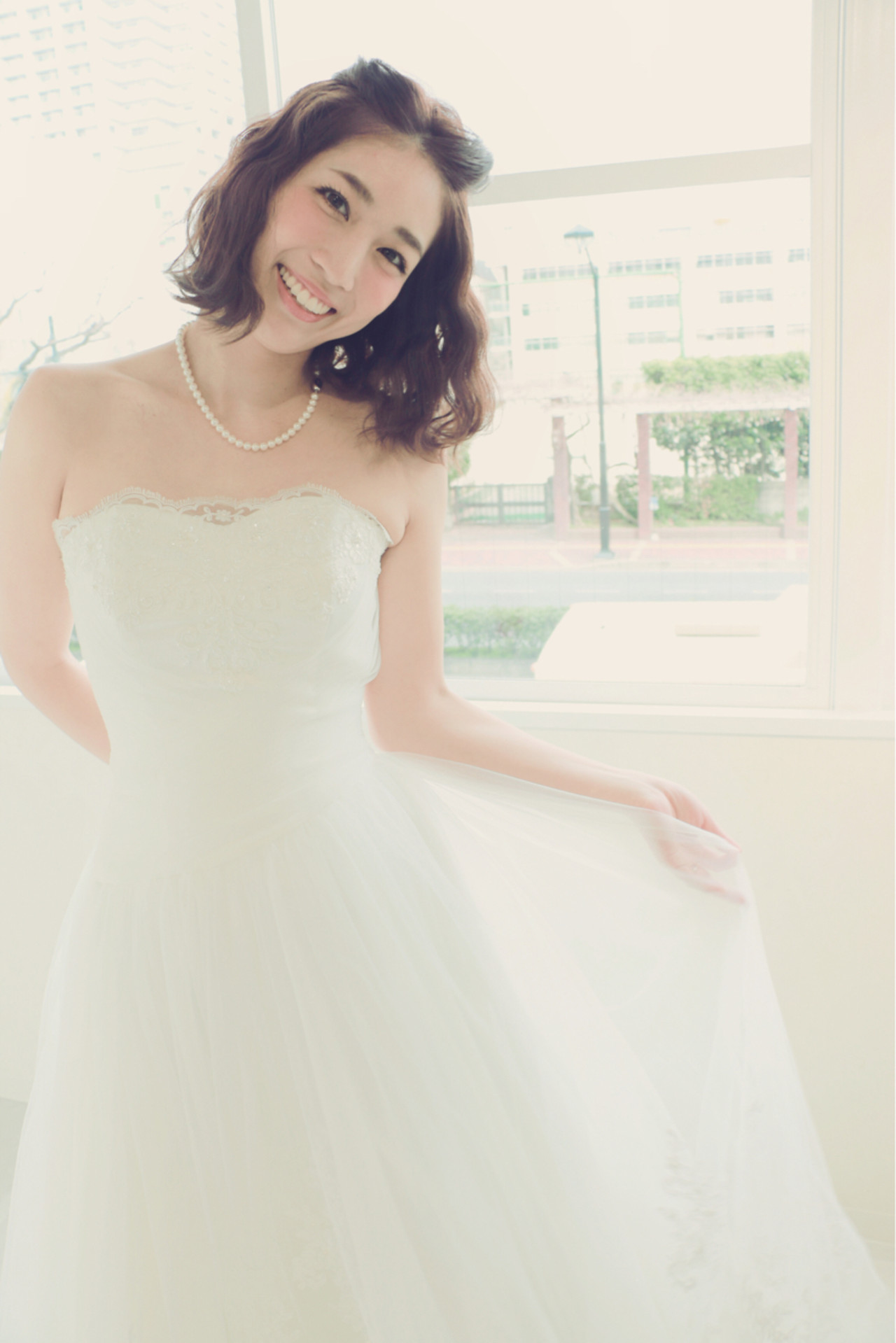 ショート 外国人風 ボブ ヘアアレンジ ヘアスタイルや髪型の写真・画像   SHOZU♡ / LiLy hair design リリィヘアデザイン
