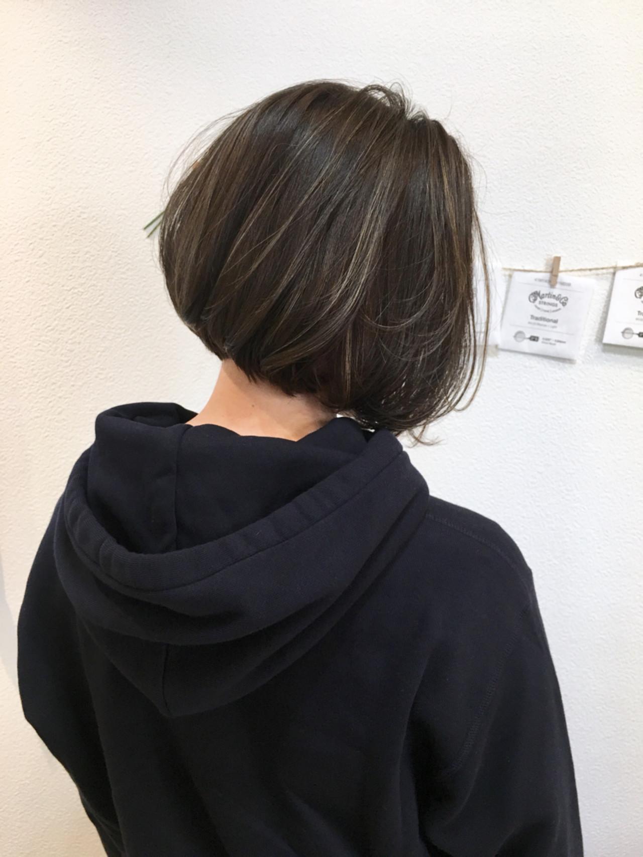 ナチュラル 透明感 色気 前下がり ヘアスタイルや髪型の写真・画像 | 島田 雅斗 / hair design acoustic