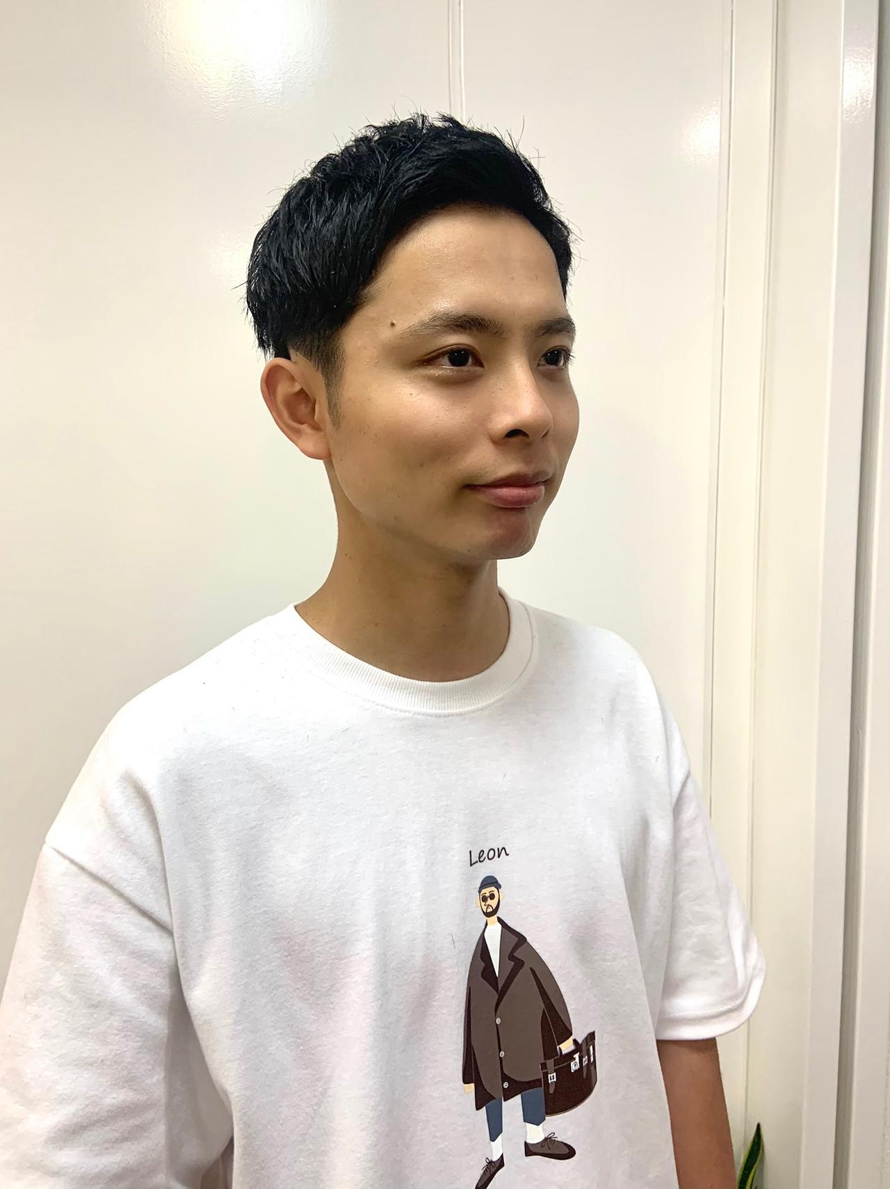 ナチュラル メンズカラー メンズカット ショート ヘアスタイルや髪型の写真・画像   砂走 真希 / As hair