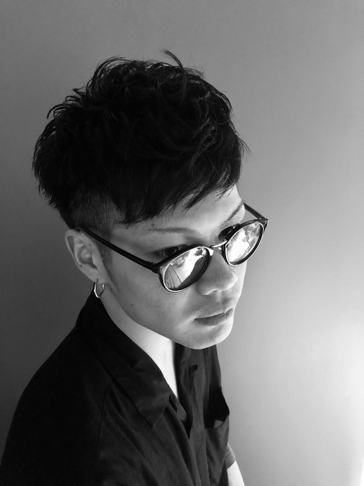 ナチュラル メンズカット メンズヘア ショート ヘアスタイルや髪型の写真・画像 | メンズカット専門 NAKAMINE RYOMA / Men's grooming salon Aoyama