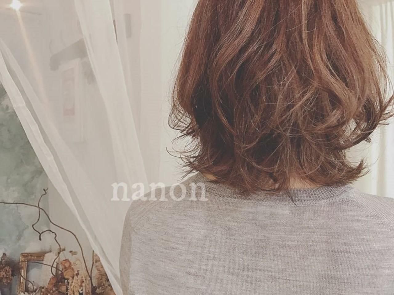 大人かわいい こなれ感 フェミニン デート ヘアスタイルや髪型の写真・画像   浦川由起江 / nanon