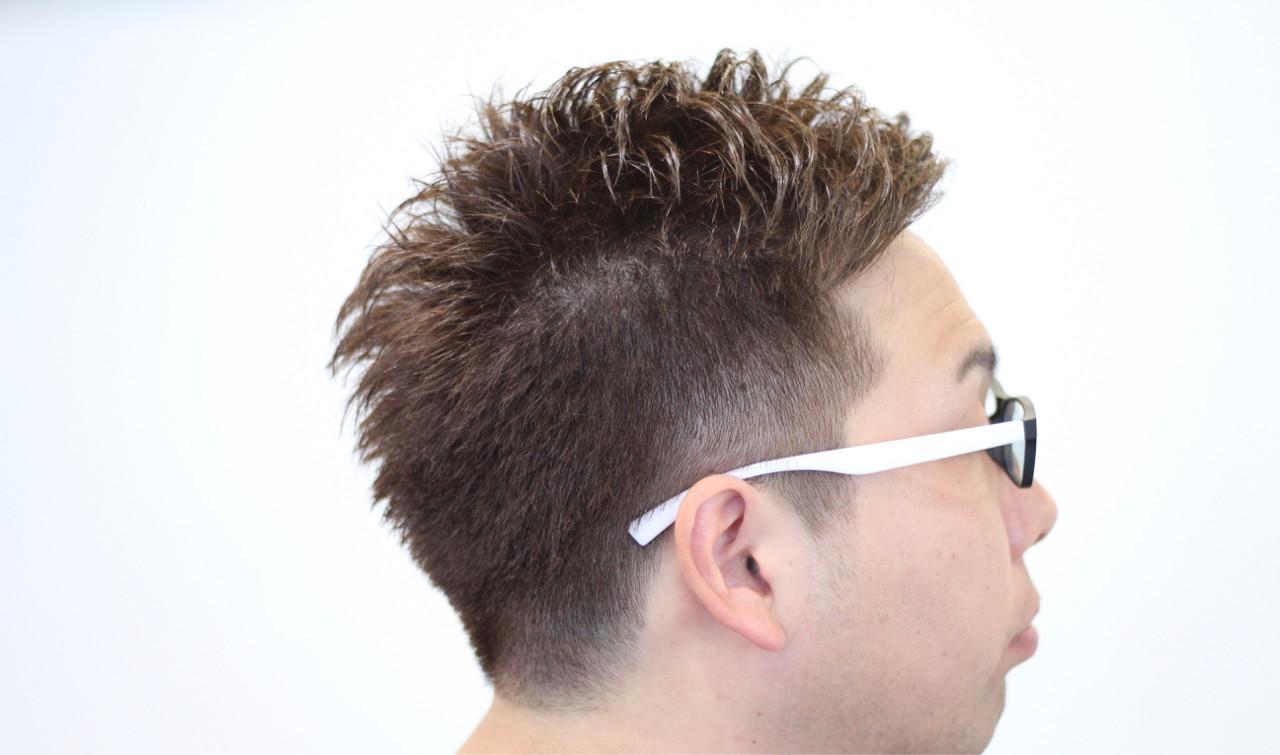 ショート ボーイッシュ パーマ 刈り上げ ヘアスタイルや髪型の写真・画像 | MAX / drawer