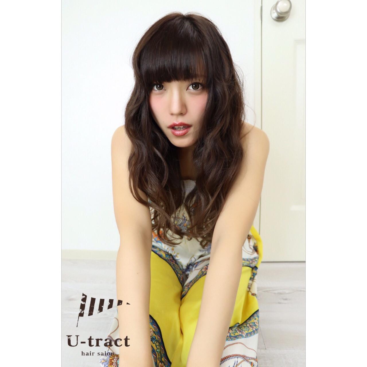 大人かわいい 大人女子 上品 愛され ヘアスタイルや髪型の写真・画像 | Marika Yoshioka /