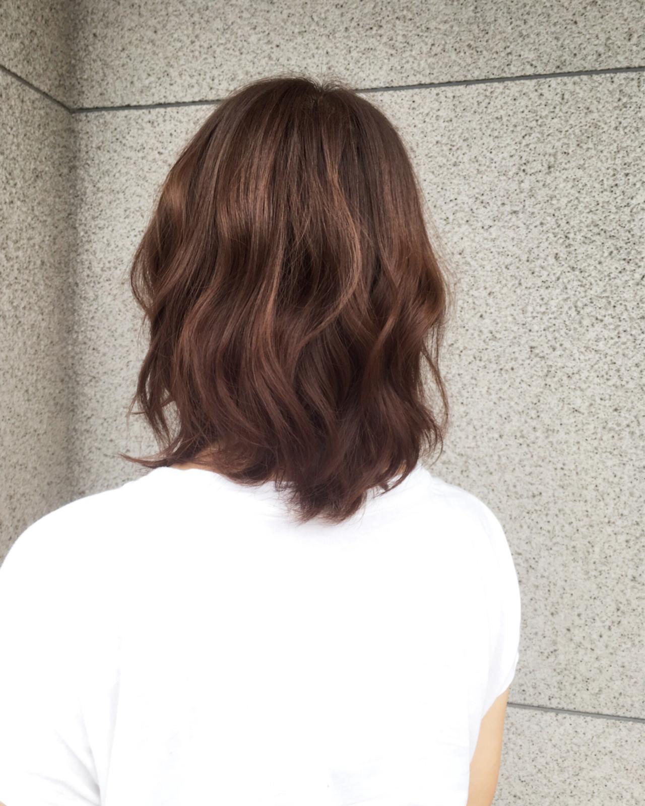 ゆるふわ 暗髪 ボブ 外国人風 ヘアスタイルや髪型の写真・画像 | 桑村亮太/CALIF hair store / 函館/CALIF hair store/キャリフ ヘアストア