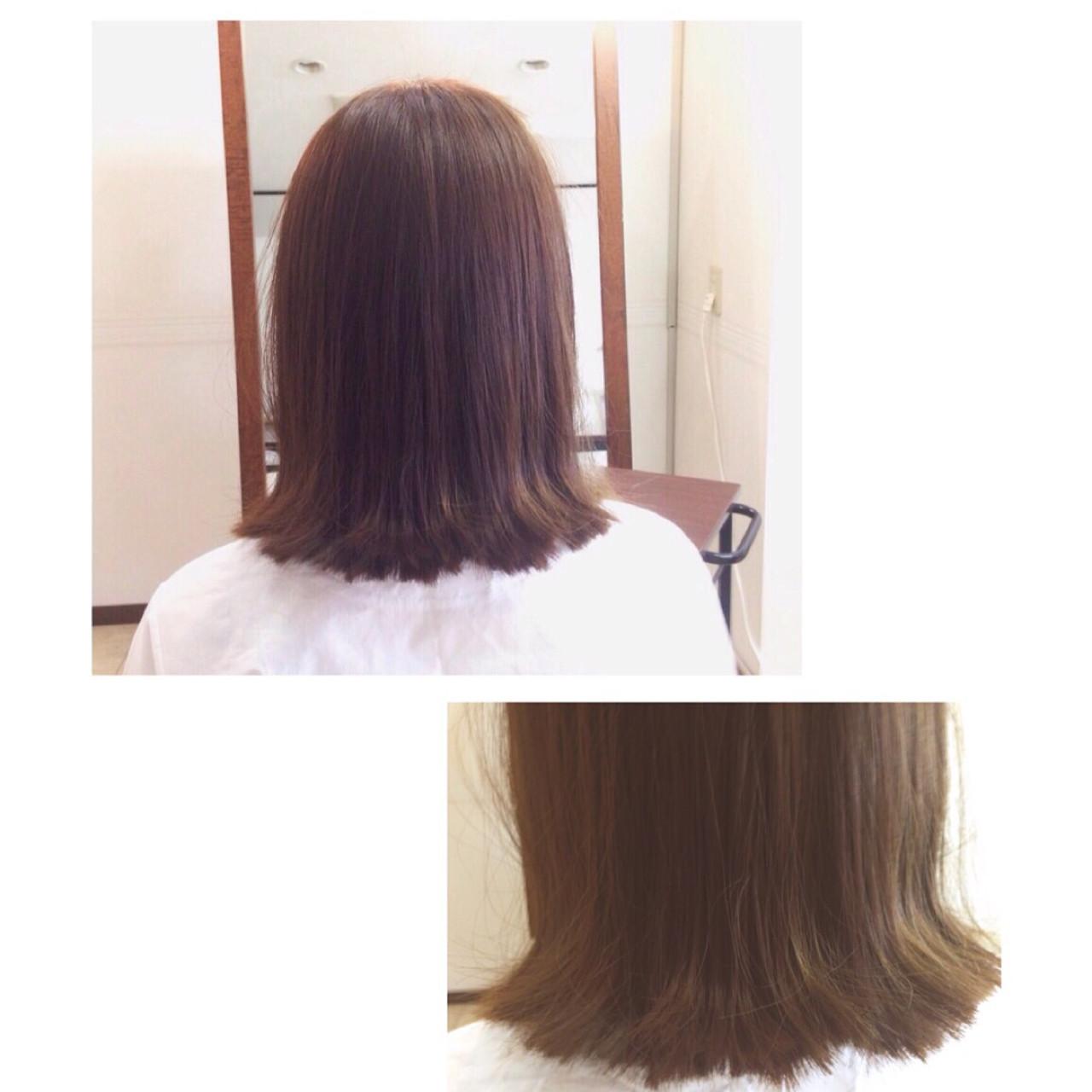 グラデーションカラー ナチュラル 大人かわいい 色気 ヘアスタイルや髪型の写真・画像 | 坂東崇 / hair make DOLCE