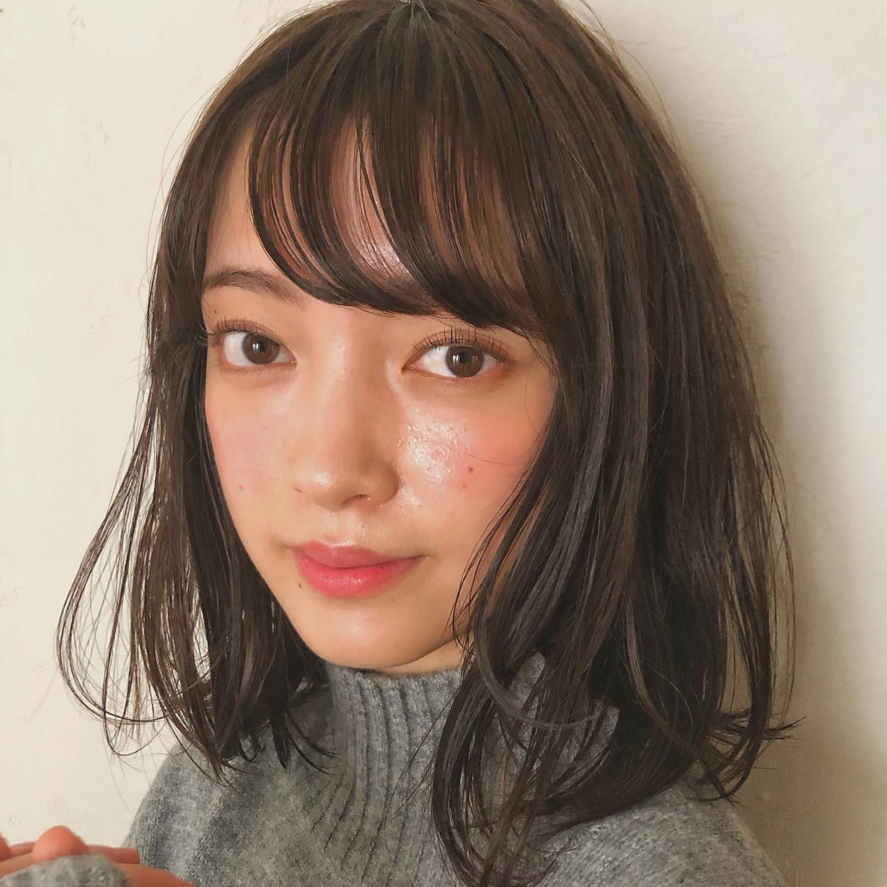 秋 女子力 ナチュラル エフォートレスヘアスタイルや髪型の写真・画像