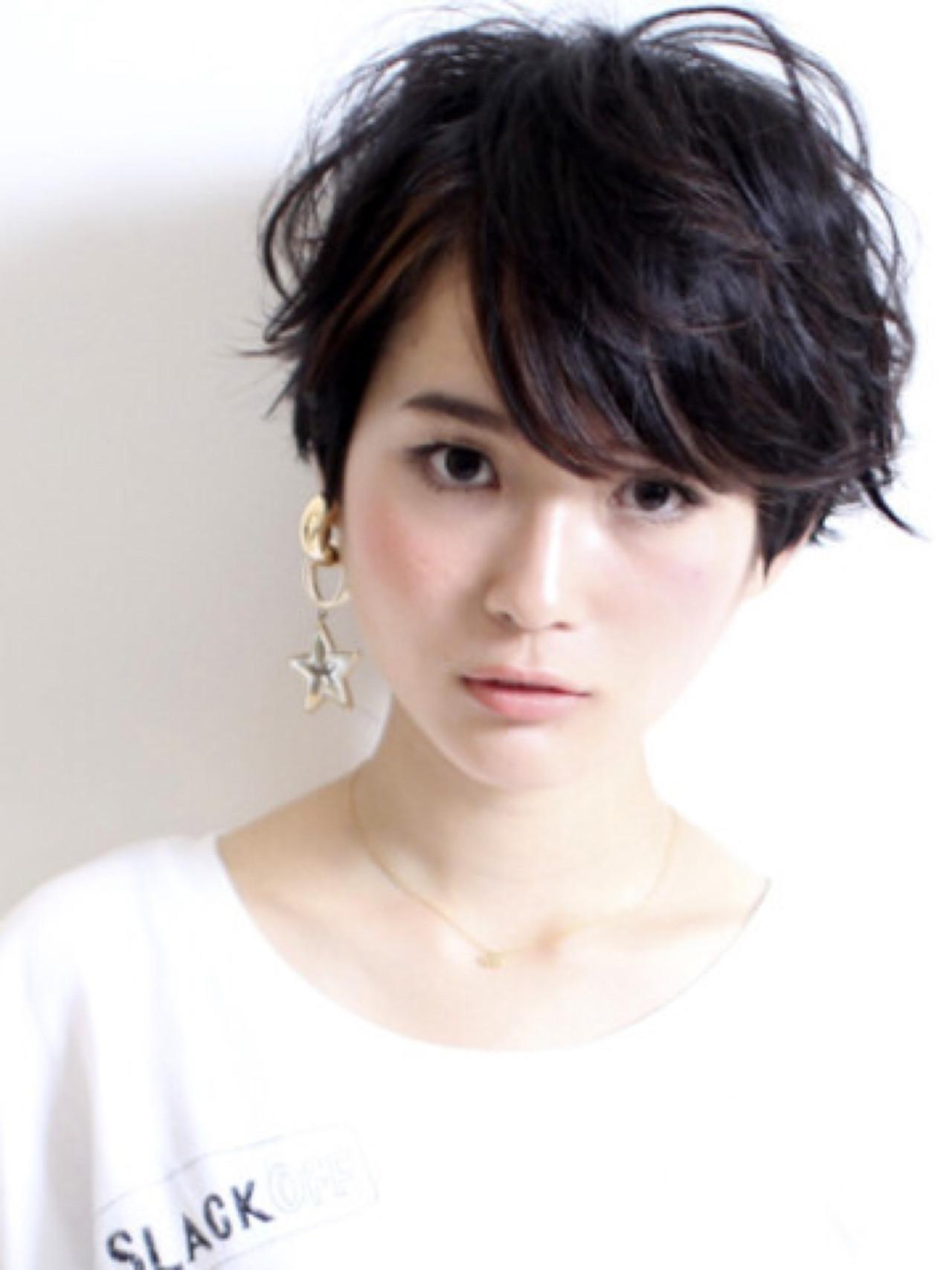 知らなかった?実はオンナ度が高い、魅惑の黒髪ベリーショート♡ 森本 浩嗣