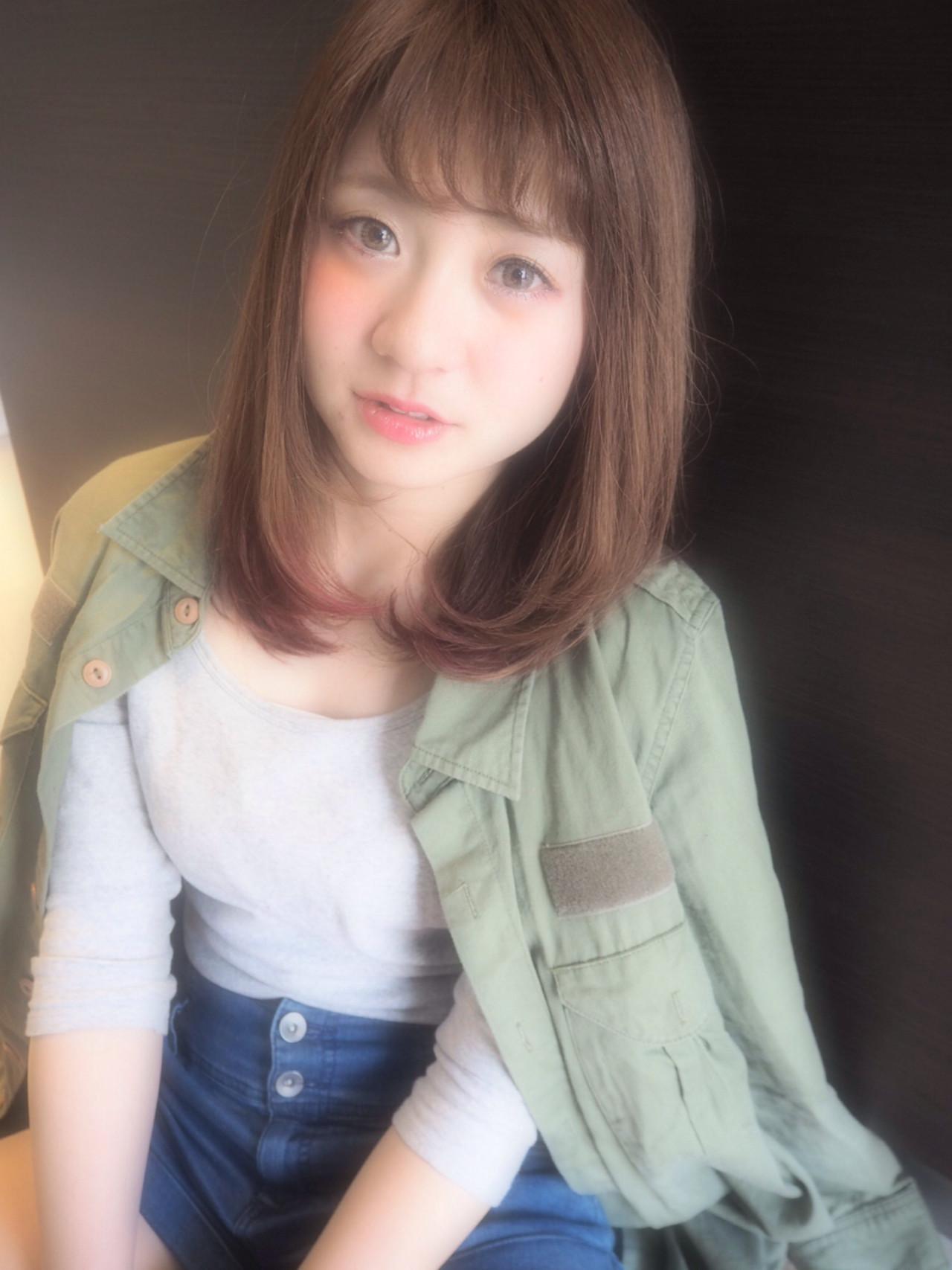 おフェロ ストリート グラデーションカラー ゆるふわ ヘアスタイルや髪型の写真・画像   Pikaichi 井上望 / Pikaichi