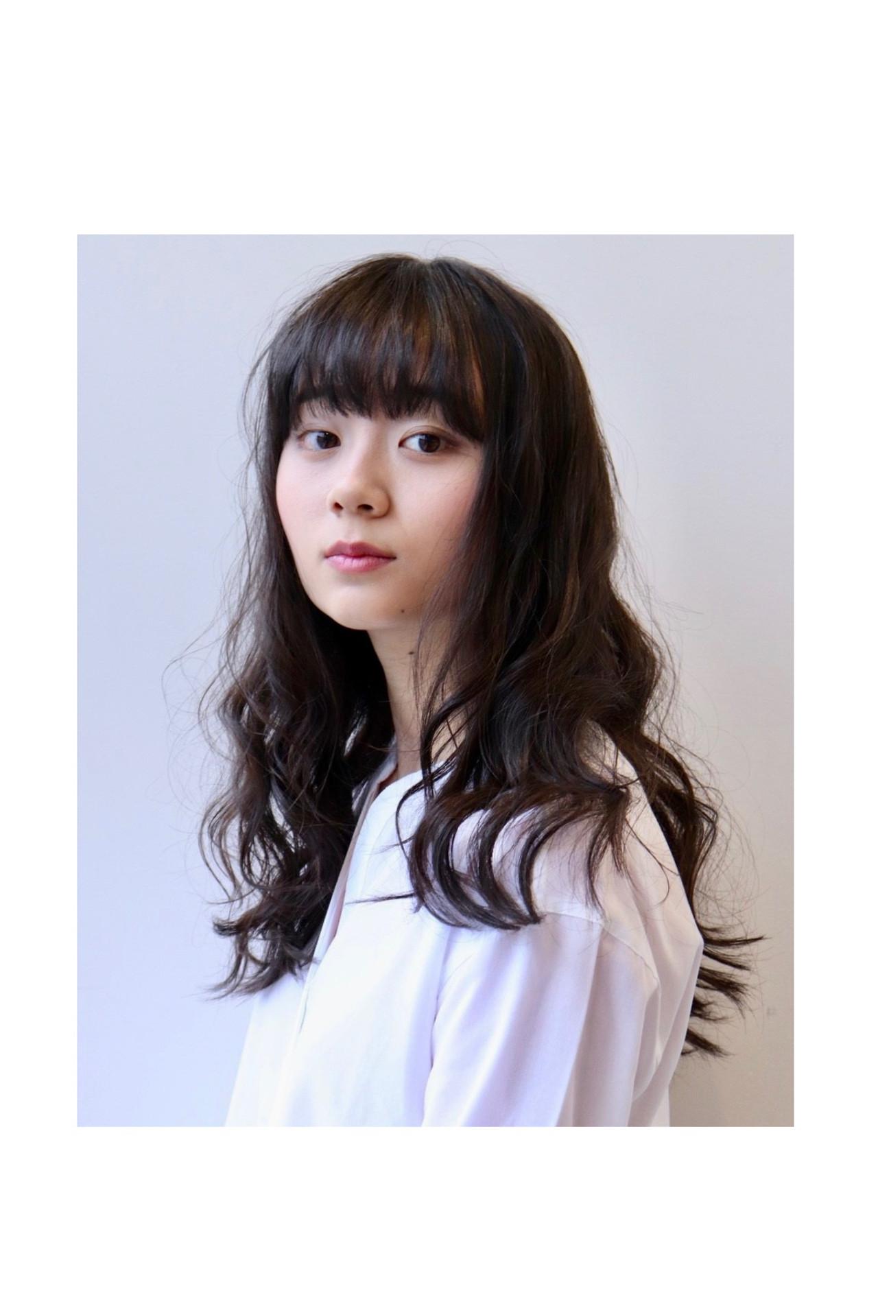 ヘアアレンジ ゆる巻き 簡単ヘアアレンジ ロング ヘアスタイルや髪型の写真・画像 | 青木遥 /