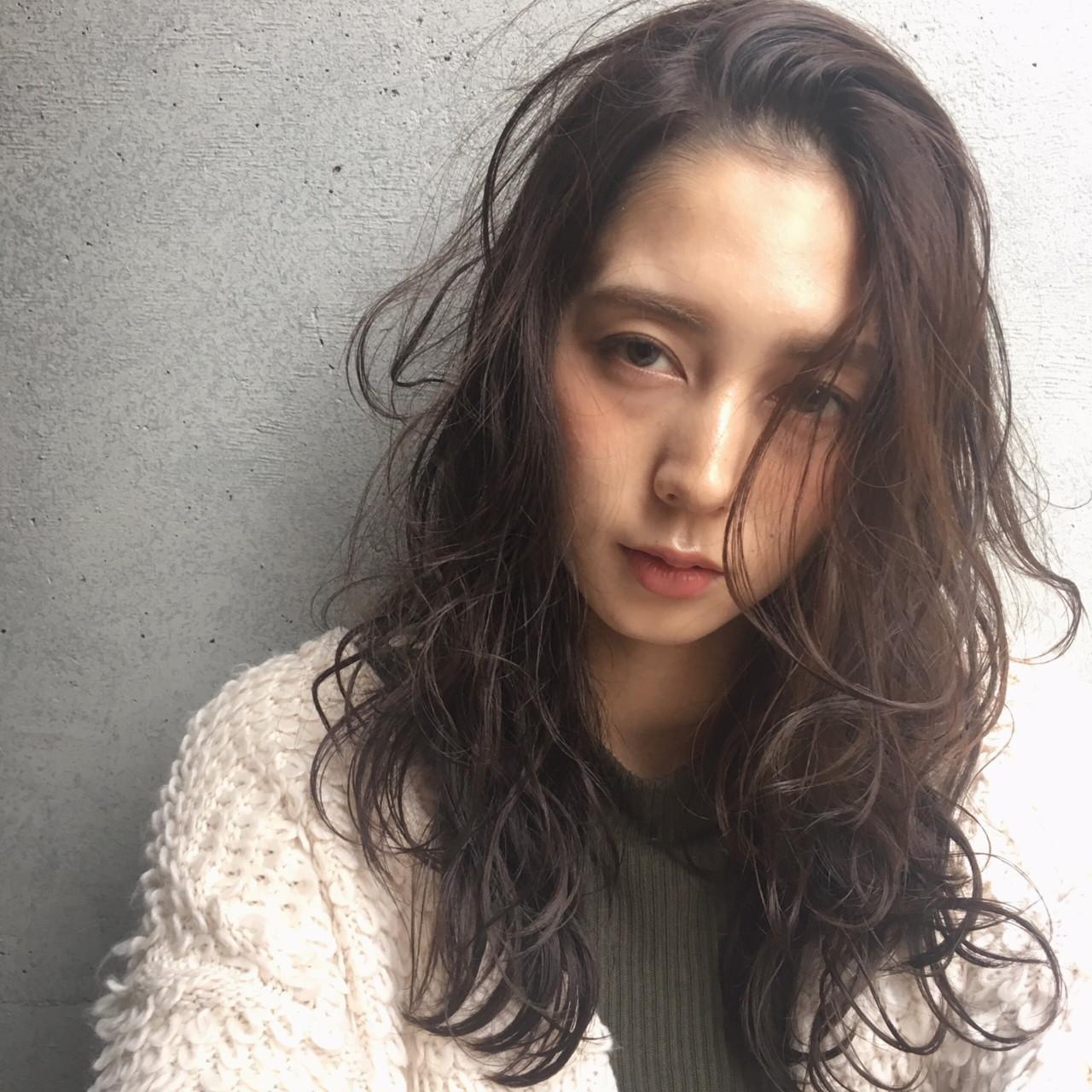 冬 秋 大人女子 セミロング ヘアスタイルや髪型の写真・画像 | 舩木 宏哉 / first泉中央