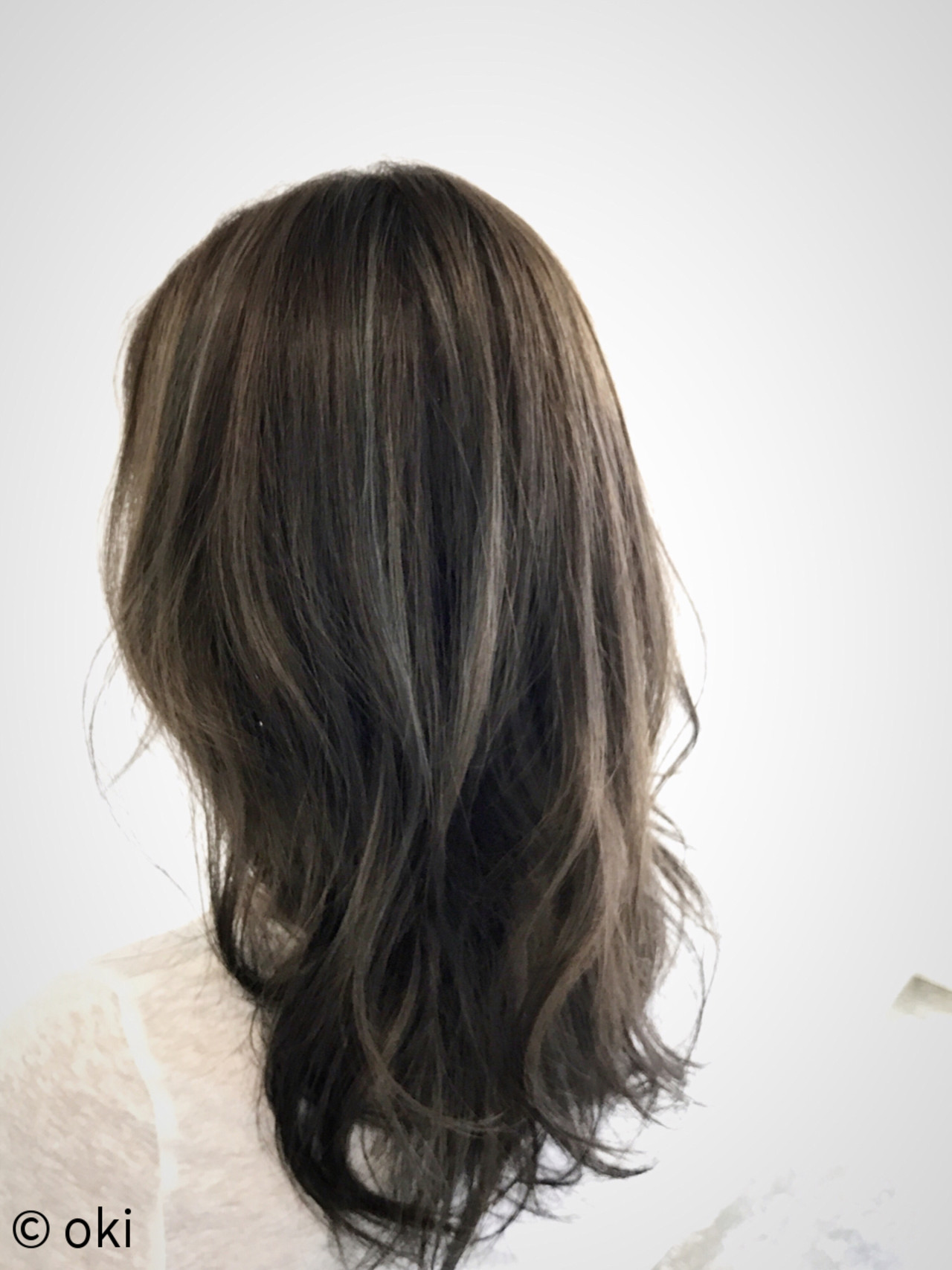 外国人風カラー 色気 透明感 夏 ヘアスタイルや髪型の写真・画像 | oki / hair&head spa  elly