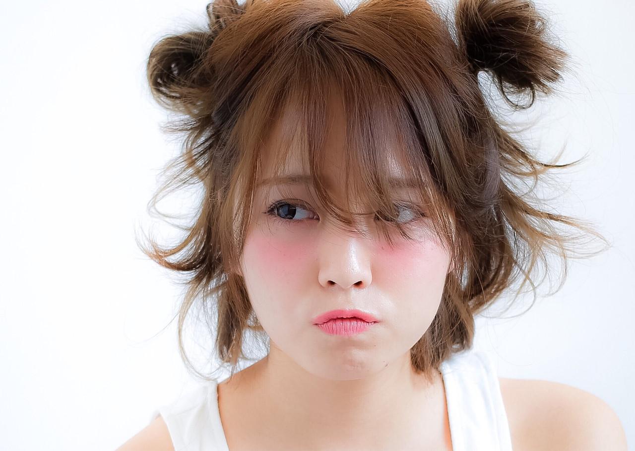ヘアアレンジ フェミニン ミディアム ピュア ヘアスタイルや髪型の写真・画像 | 小笠原 淳 / hair make No.8(ヘアメイクエイト)