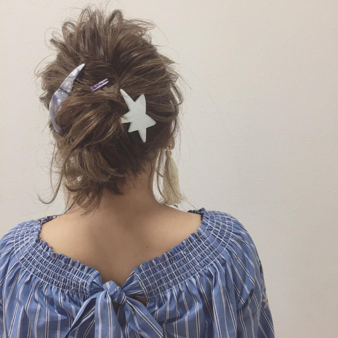 色気 涼しげ ミディアム 夏ヘアスタイルや髪型の写真・画像