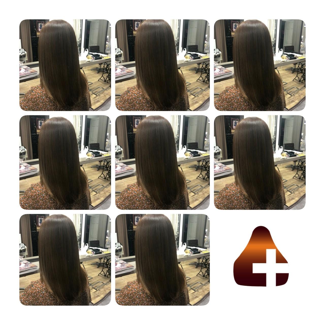 名古屋市守山区 トリートメント 髪質改善 ロングヘアスタイルや髪型の写真・画像
