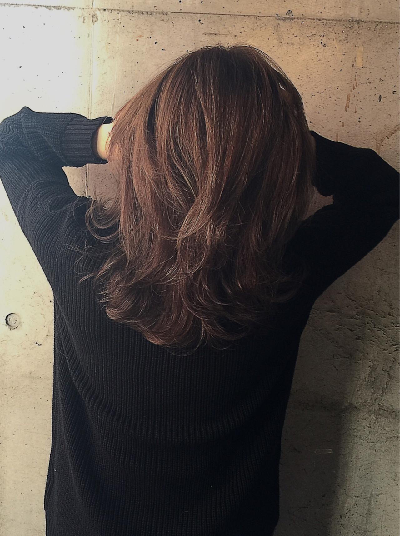 ウェーブ 外国人風 ストリート ウェットヘア ヘアスタイルや髪型の写真・画像 | 内田 一也 / hair/nail space a:le