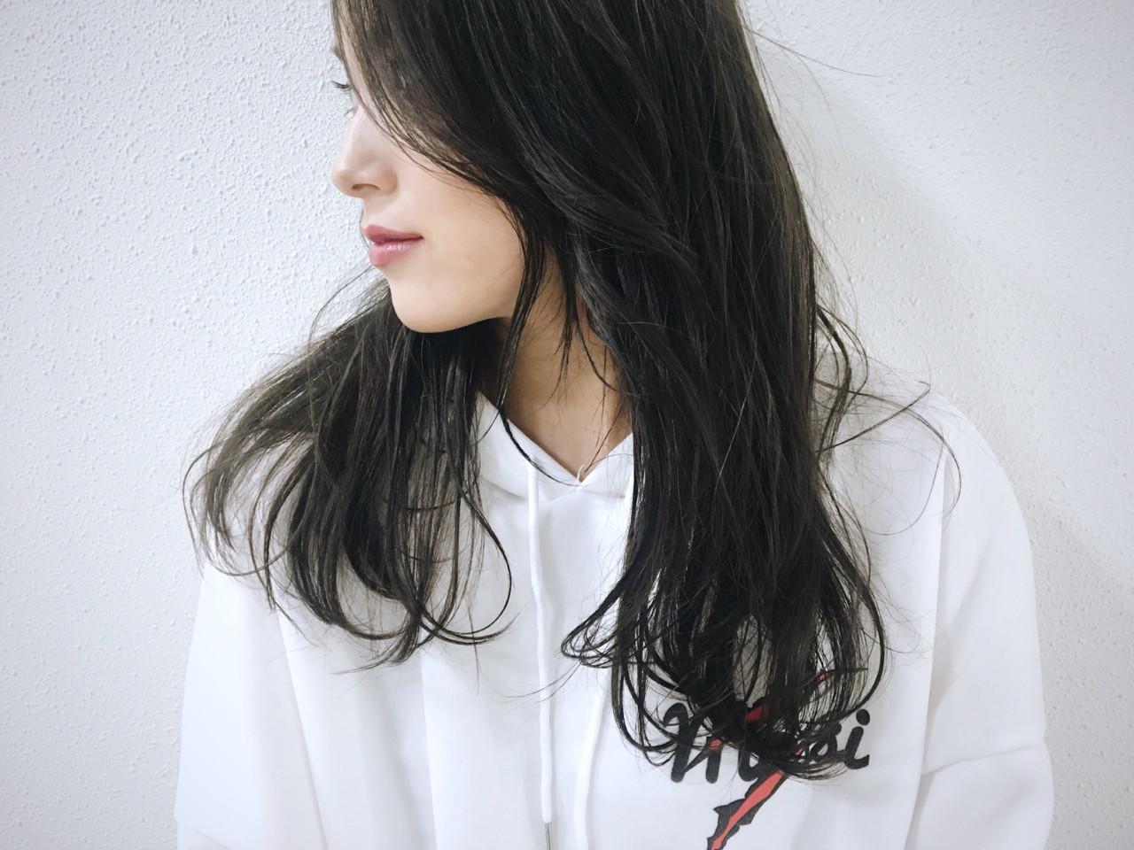 外国人風カラー ナチュラル グレージュ グレー ヘアスタイルや髪型の写真・画像   長 賢太郎 / ky-go