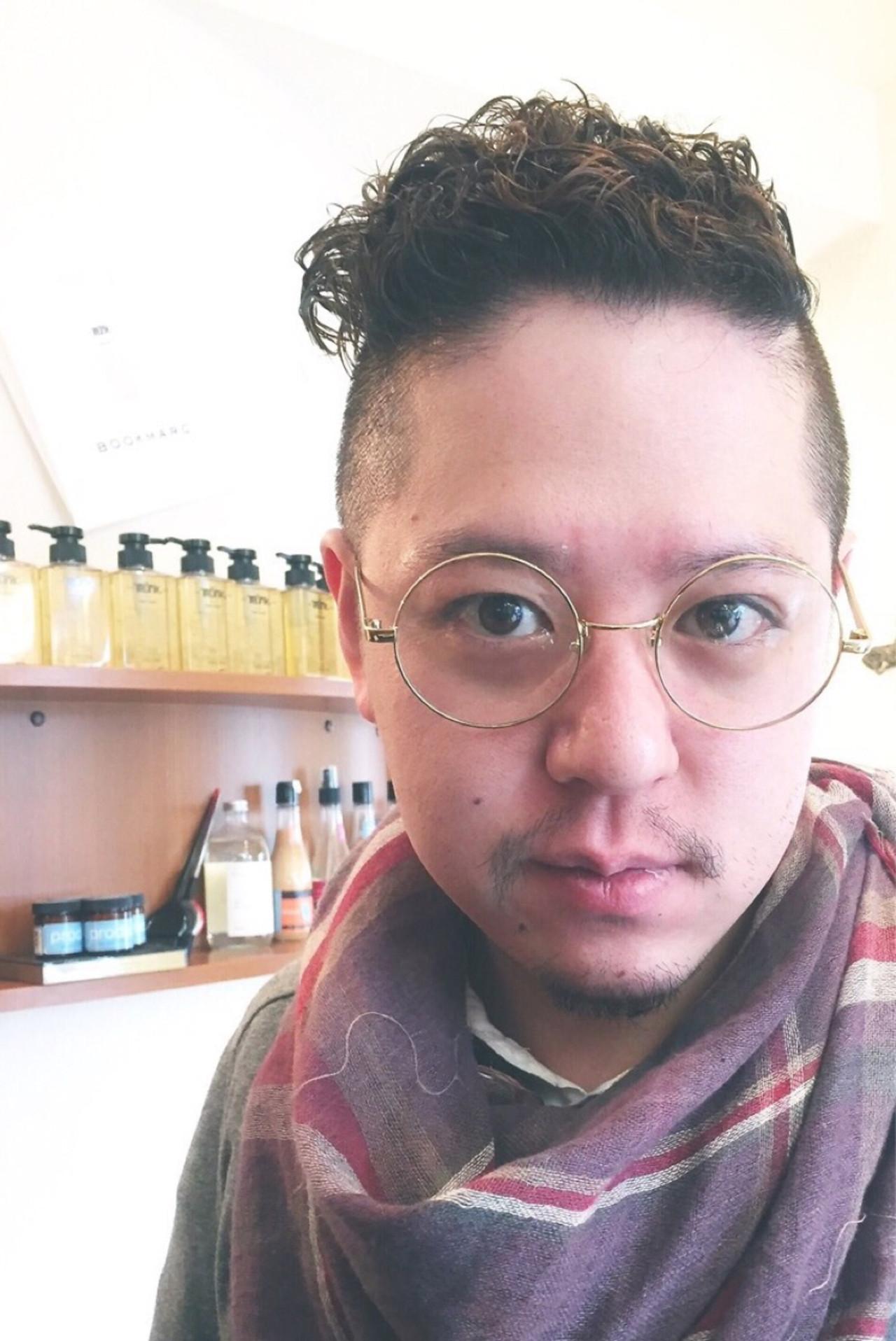 ボーイッシュ 坊主 メンズ モードヘアスタイルや髪型の写真・画像
