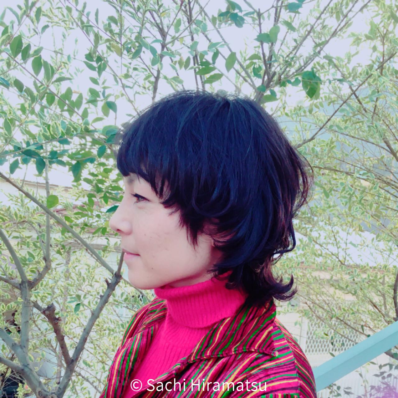 大人女子が取り入れるマッシュウルフ♡自分らしさが発見できる大人の魅力ヘアー! Sachi Hiramatsu