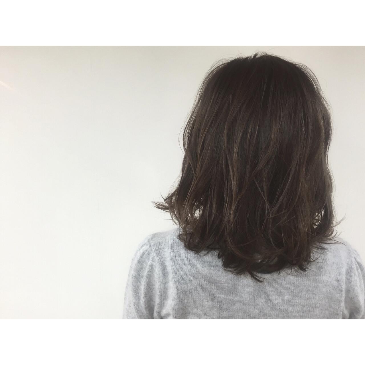 ヘアアレンジ ストリート 外国人風 ミディアム ヘアスタイルや髪型の写真・画像 | Tatsuya Hara / Corte