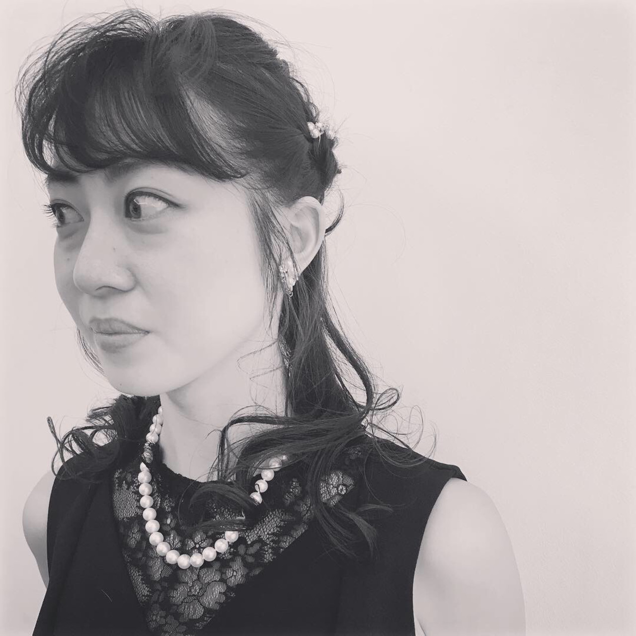 結婚式 簡単ヘアアレンジ ヘアアレンジ デート ヘアスタイルや髪型の写真・画像 | 飯島 直彬 / SEES HAIR